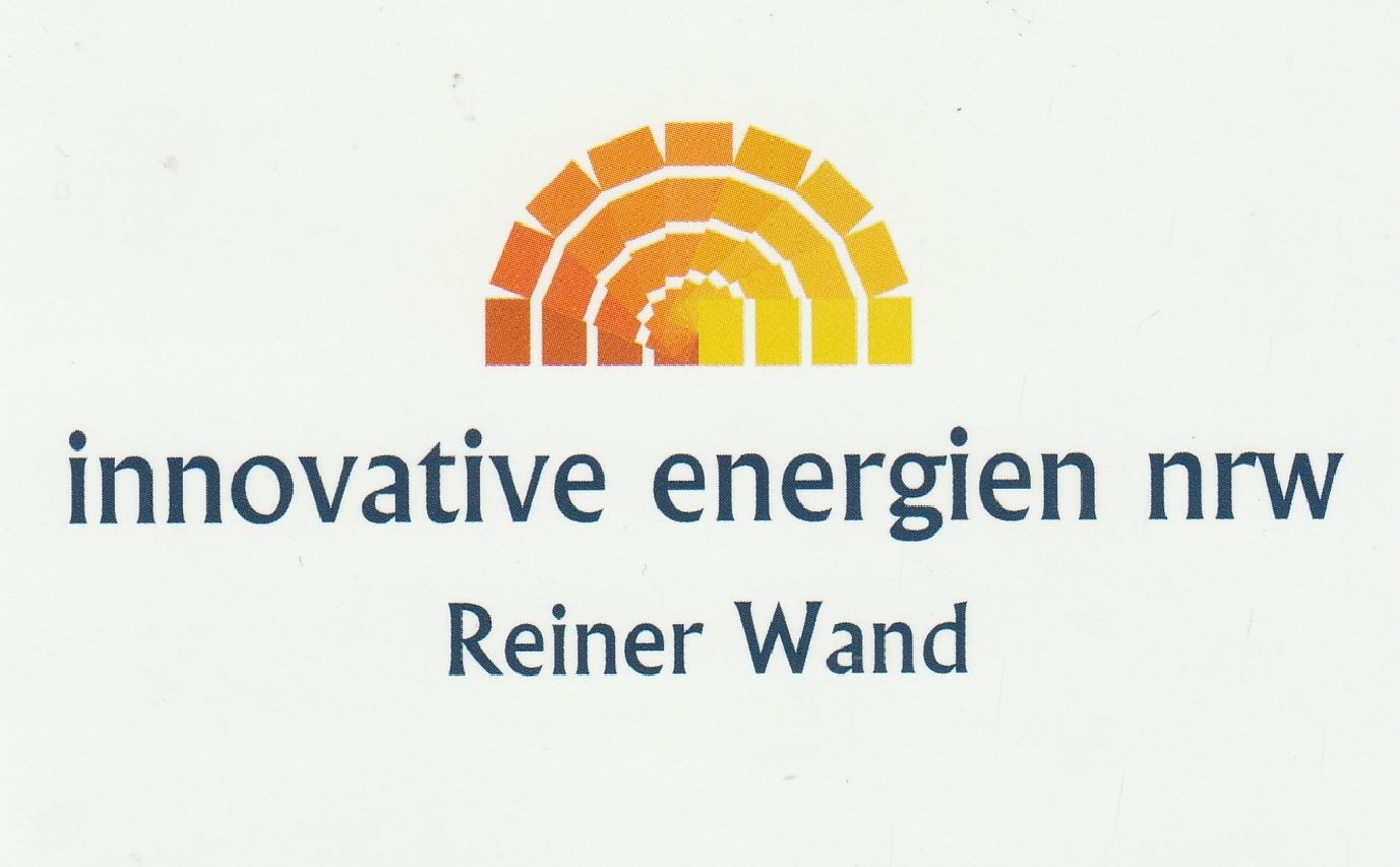 innovative energien nrw - Reiner Wand